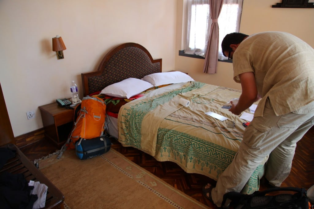 hôtel Katmandou