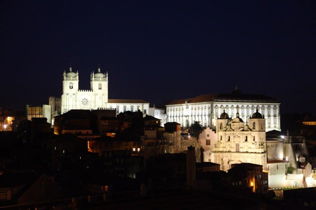 Porto de nuit Visiter Porto