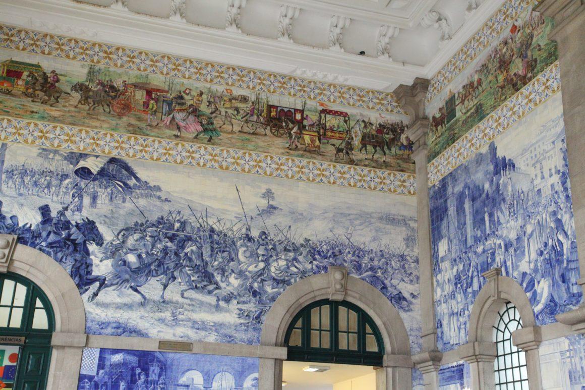 gare Porto Azulejos Visiter Porto