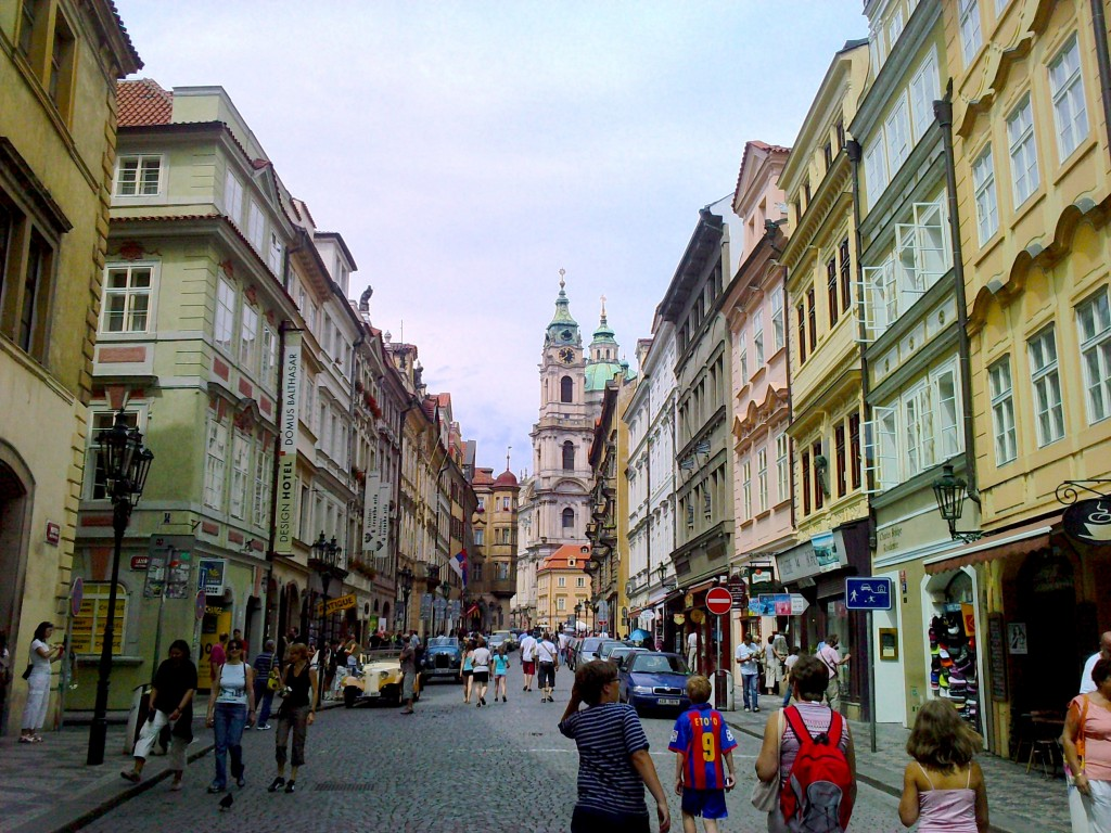 quartier de Mala Strana Prague