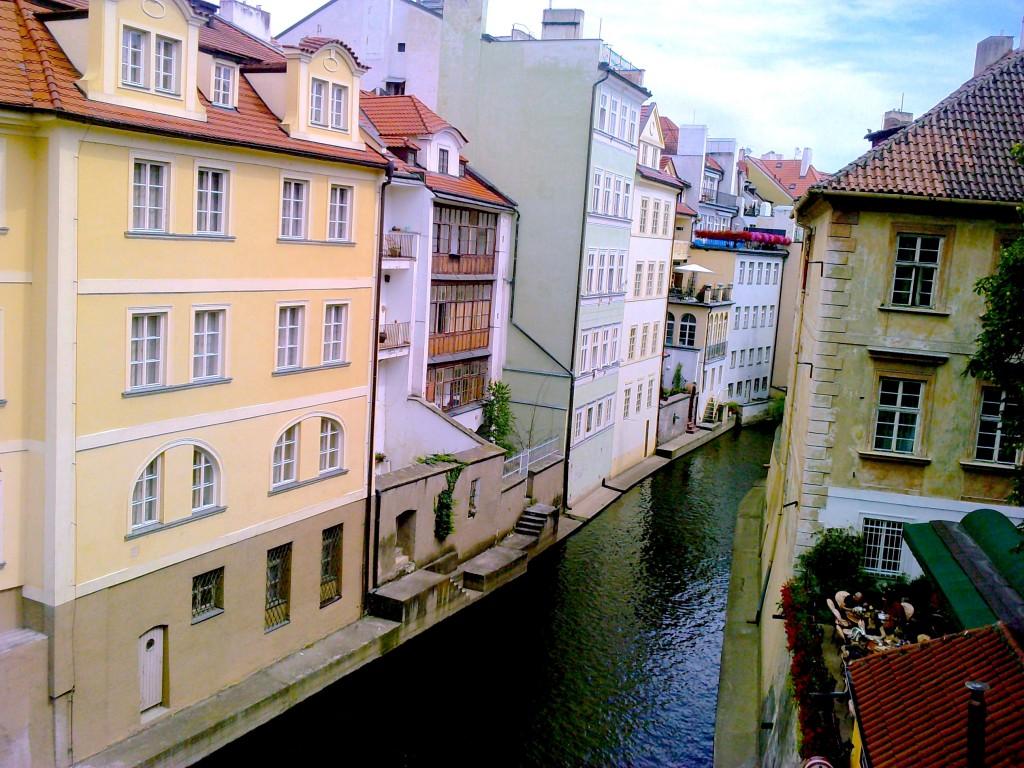 canaux la petite Venise Prague