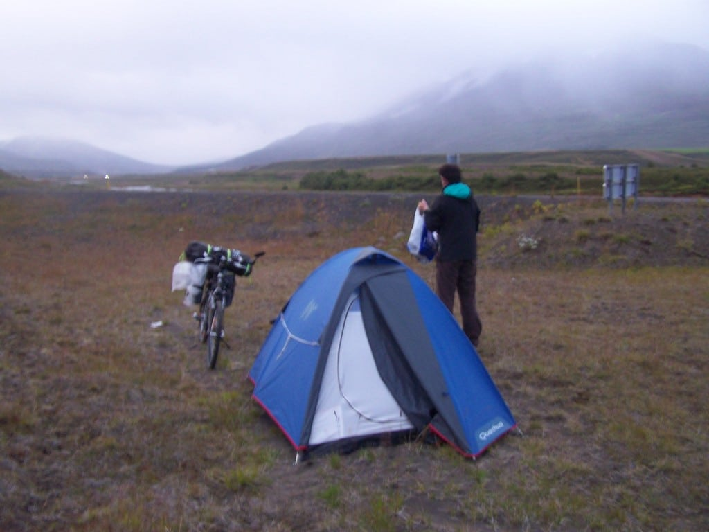 camping sauvage en Islande