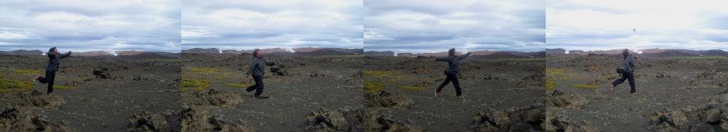 Paysage lunaire Islande