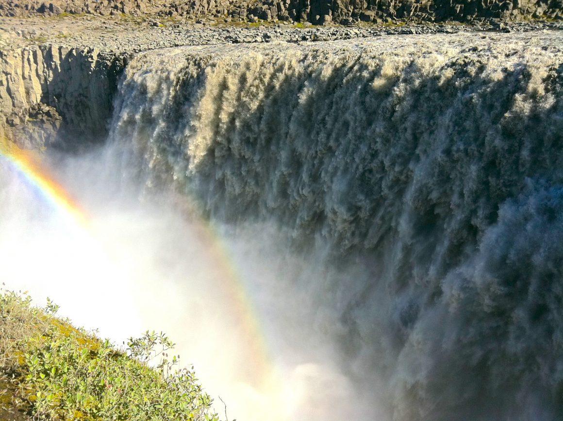 cascade Dettifoss Myvatn