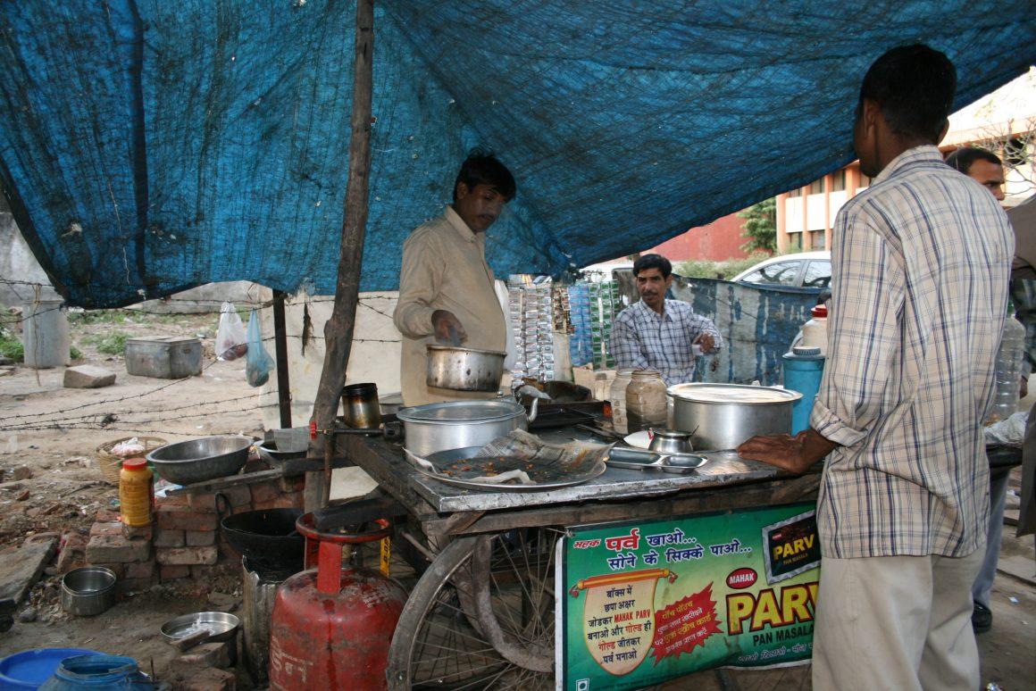 cuisine rue new delhi inde