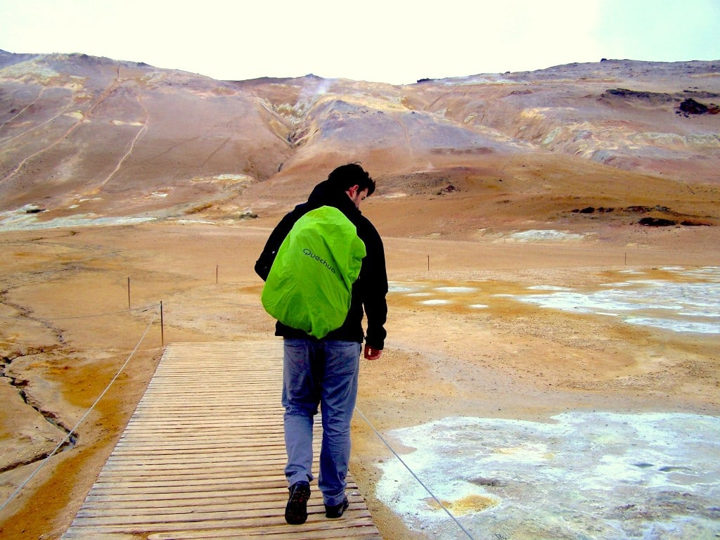 Visiter lac Myvatn soufre mars
