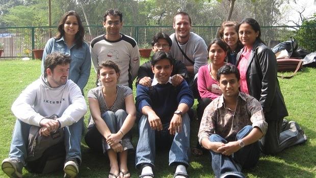 élèves école new delhi inde