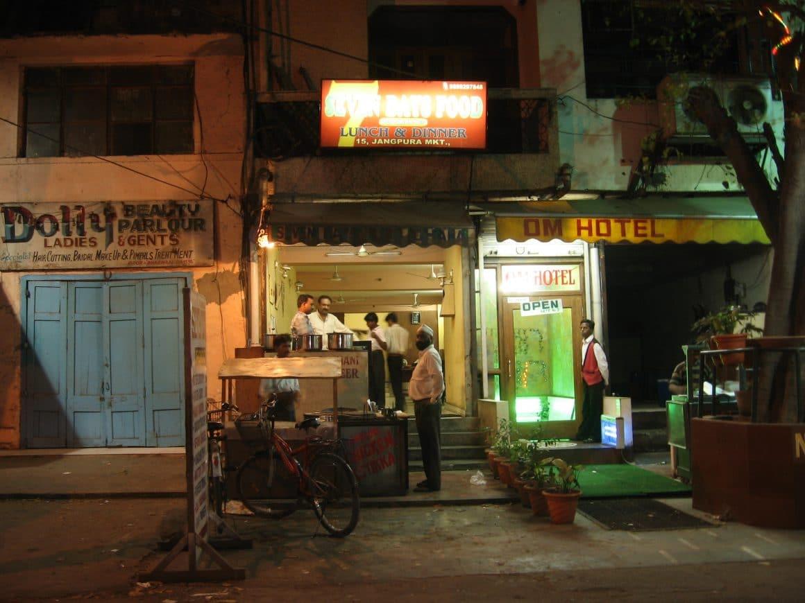 cuisine de rue new delhi inde