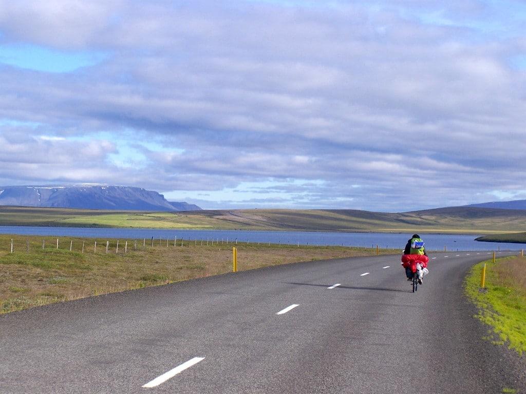 Islande à vélo paysages
