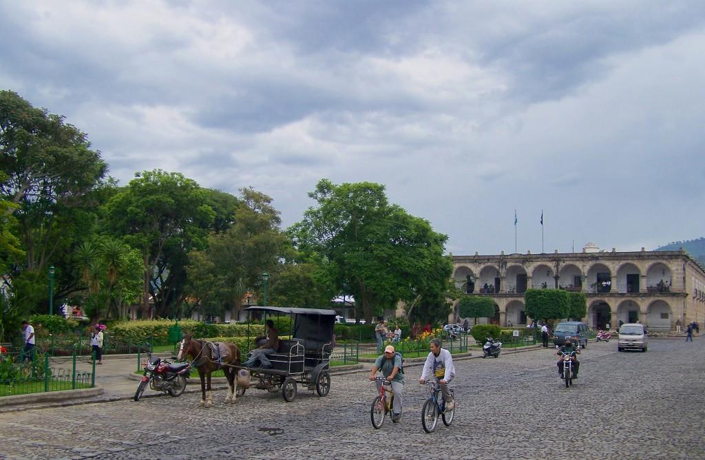 place centrale Antigua guatemala