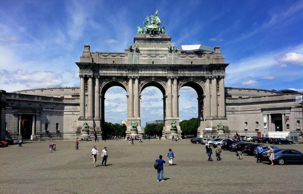 Arcade du cinquantenaire à Bruxelles