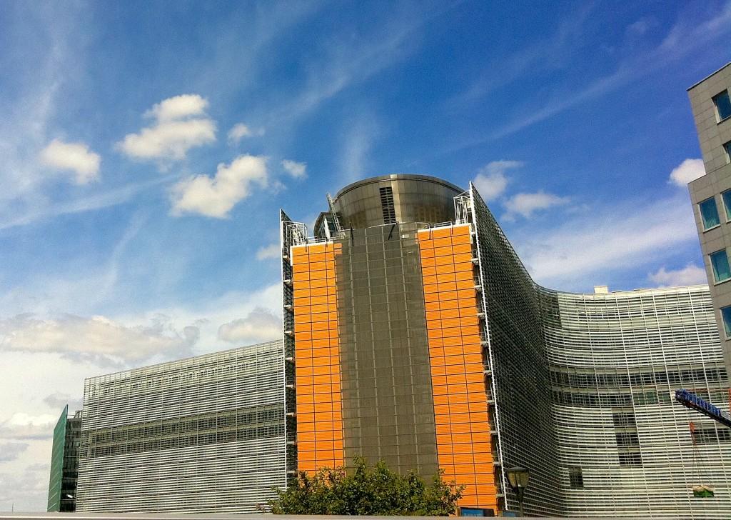 quartier européen où se trouve le Parlement à Bruxelles