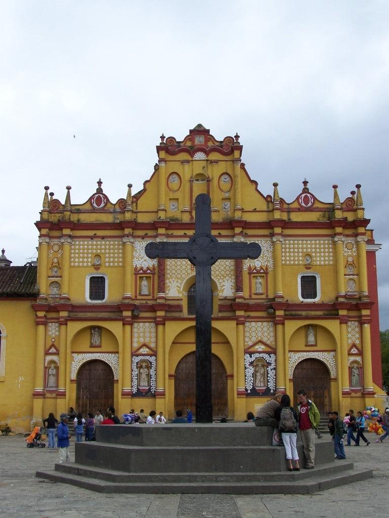 eglise San Cristobal de Las Casas mexique