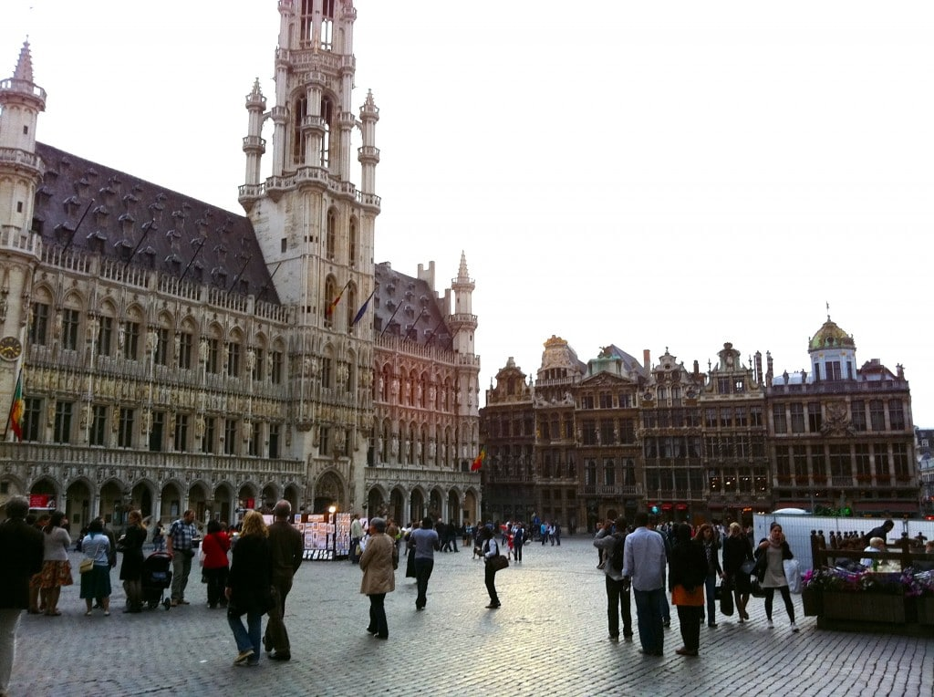 visiter Bruxelles week-end Grande Place