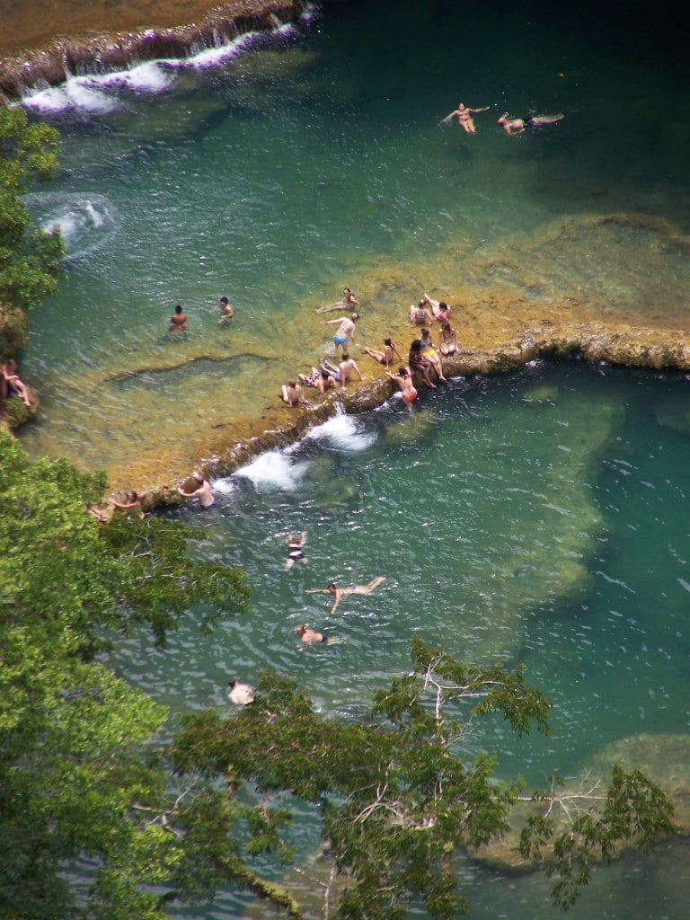 bassin Semuc Champey guatemala