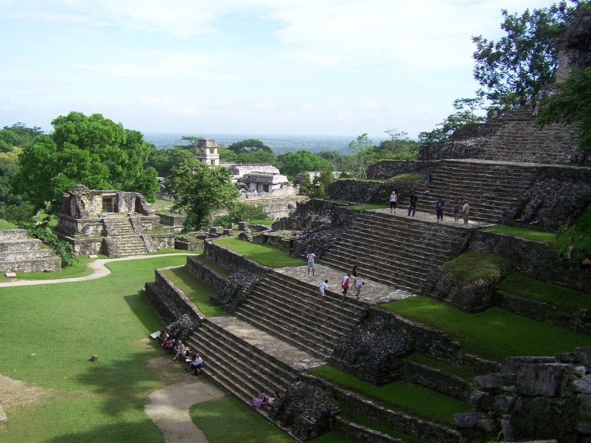 temple Palenque voyager mexique