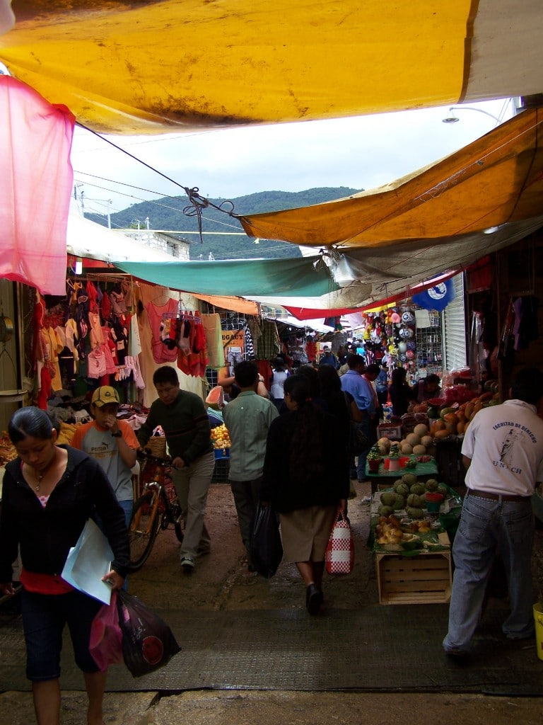 marché San Cristobal de Las Casas mexique