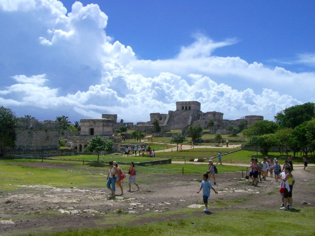 temple tulum mexique