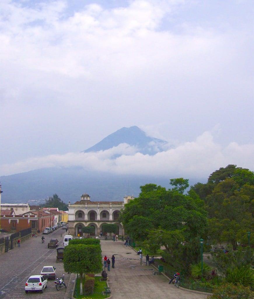 volcan Antigua guatemala