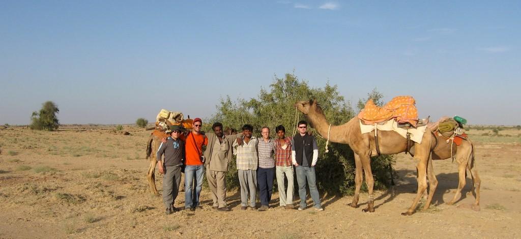 randonnée dromadaire désert du Thar Jaisalmer Rajasthan