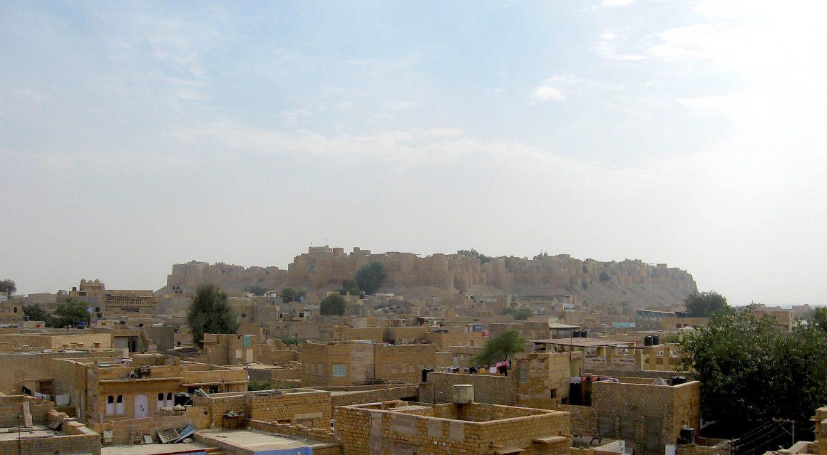 fort de Jaisalmer désert du Thar