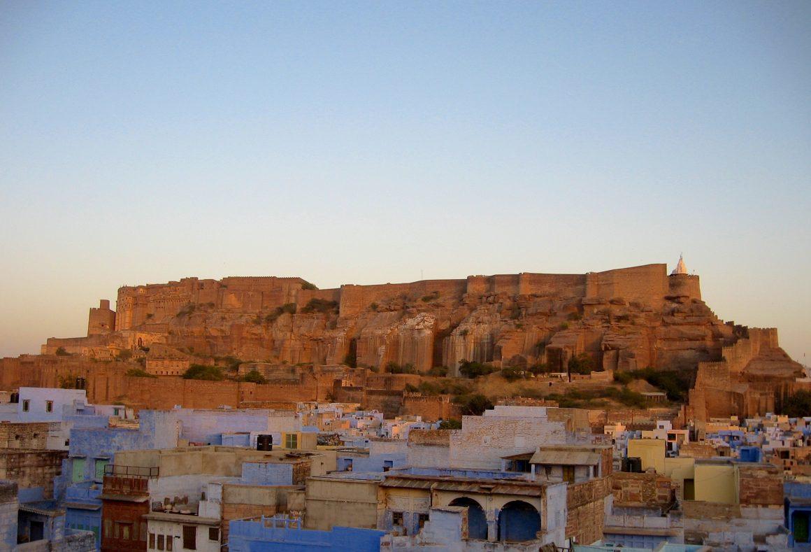 Visiter le Rajasthan : fort Meherangarh Jodhpur