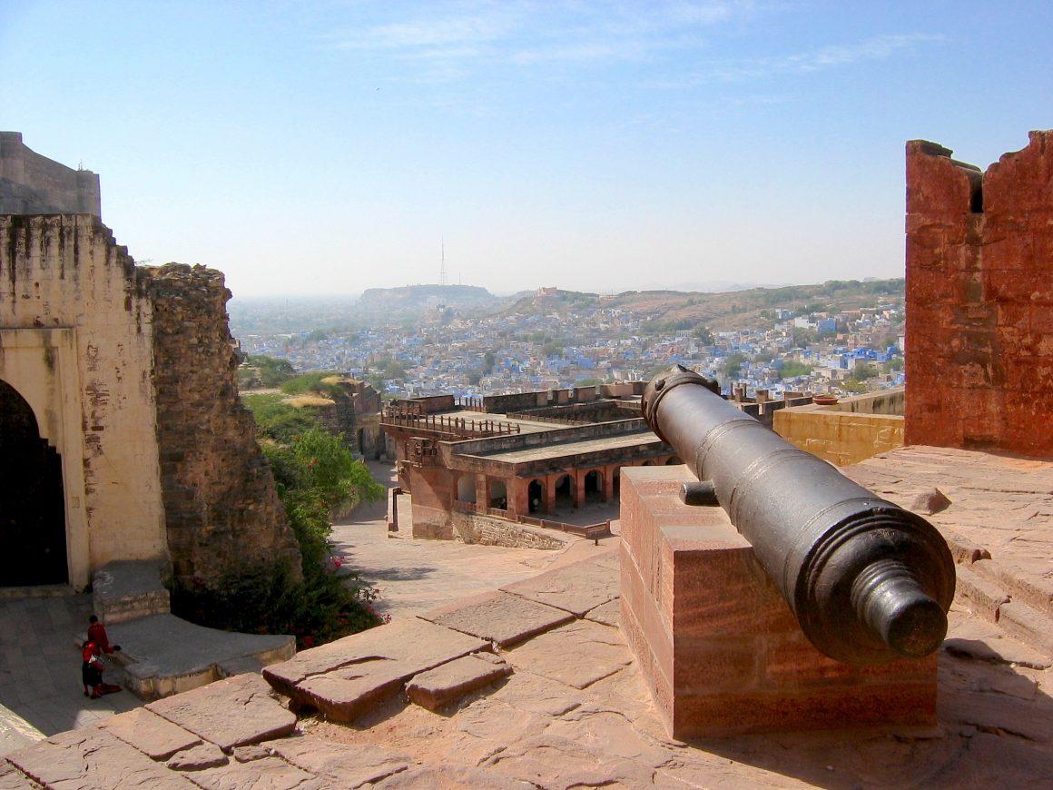 fort Meherangarh Jodhpur visiter le Rajasthan