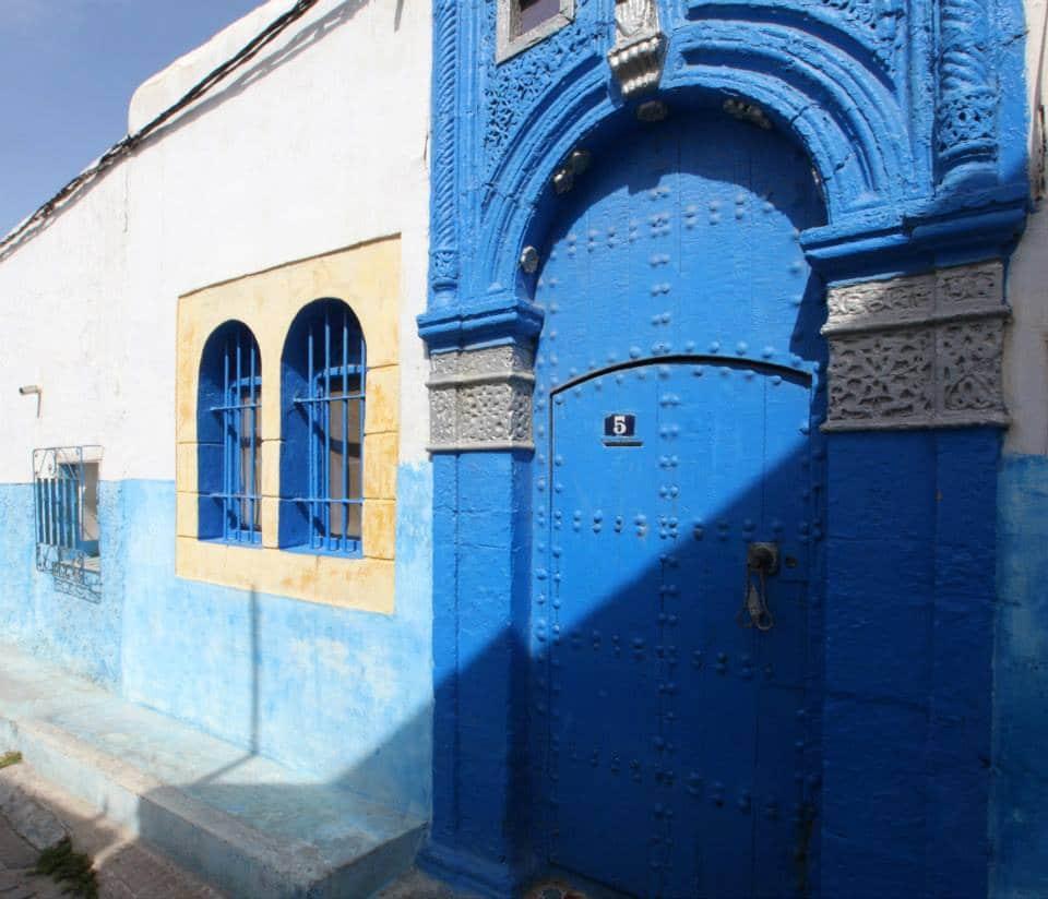 Maroc, quartier de Rabbat :  Kasbah des Oudayas