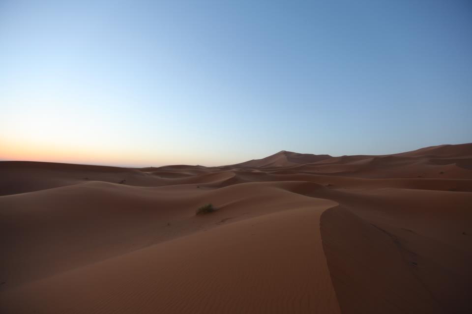 désert du Sahara au Maroc