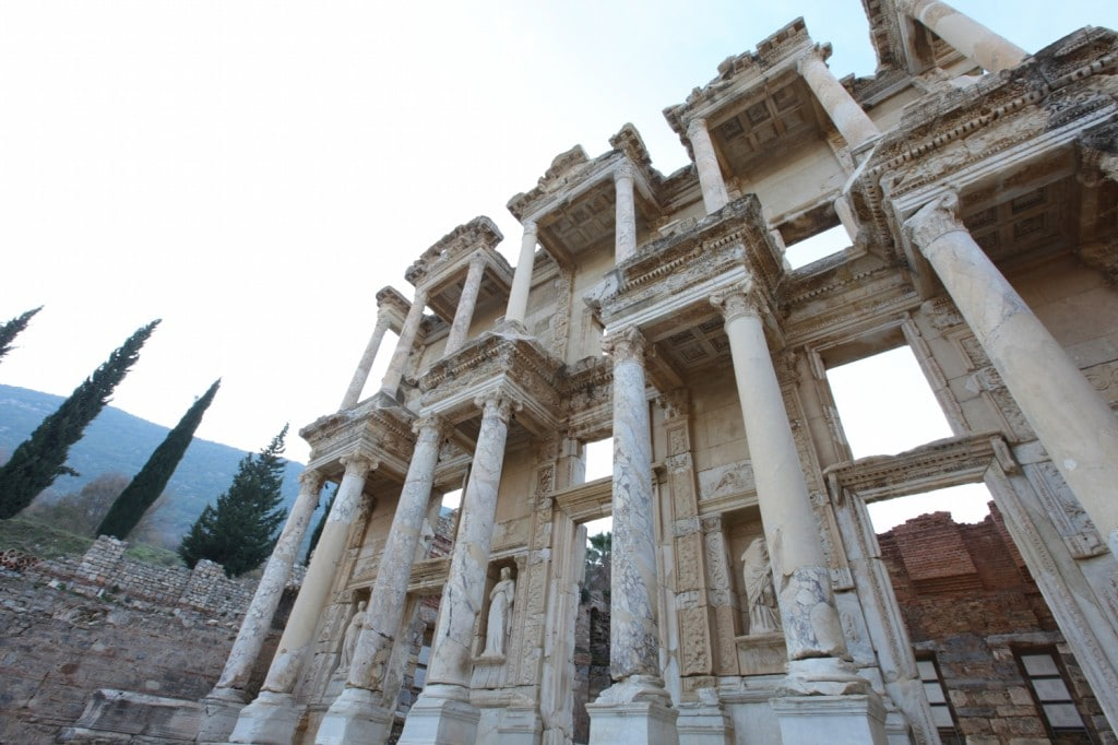Après Istanbul nous avons pris un bus pour Ephésus Ephèse