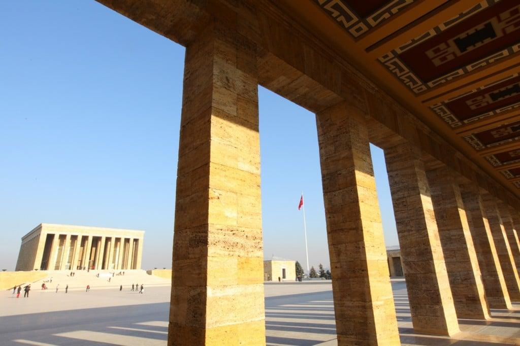 Ankara : Anitkabir, le mausolée d'Ataturk