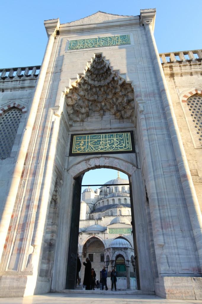 la Mosquée Bleue située à Istanbul