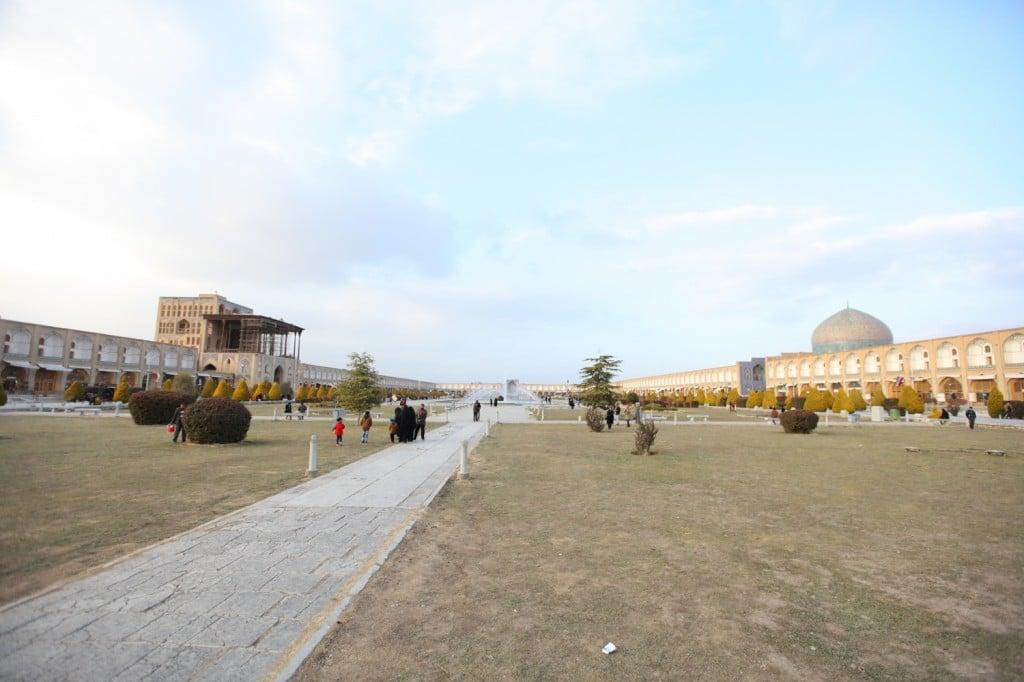 Iran Persepolis et Isfahan : La place Naghsh-e Jahan