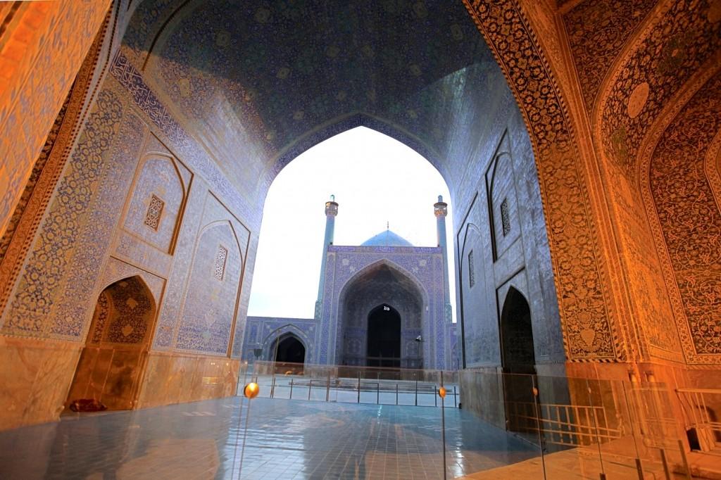 Visiter Persepolis et Isfahan : Mosquée du Chah à Isfahan
