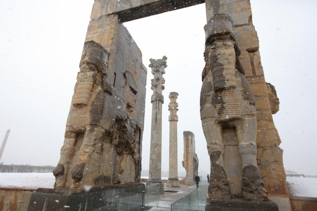 Portes d'entrée de Persépolis