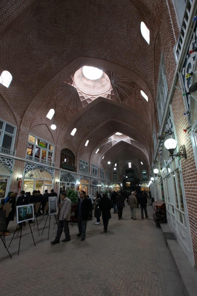 Bazar de Tabriz est magnifique !