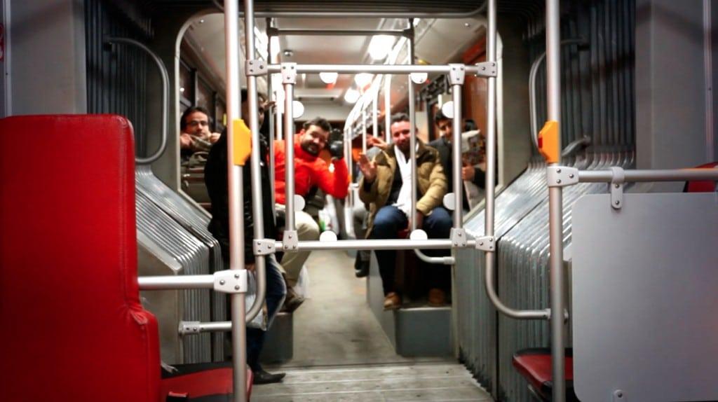 bus en Iran : séparation hommes-femmes