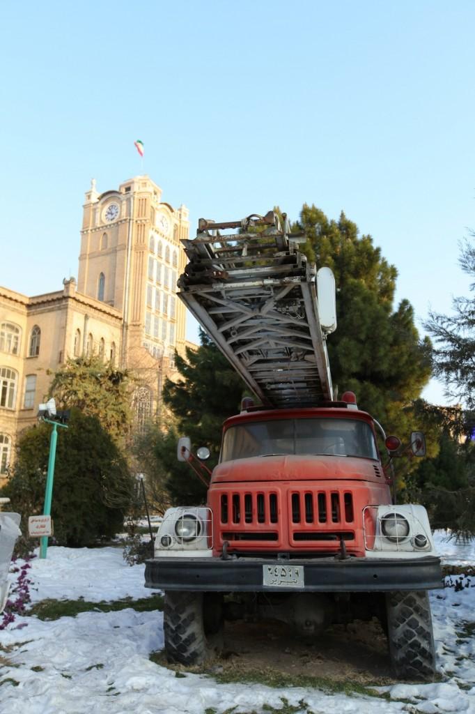 visiter Tabriz tour de l'horloge