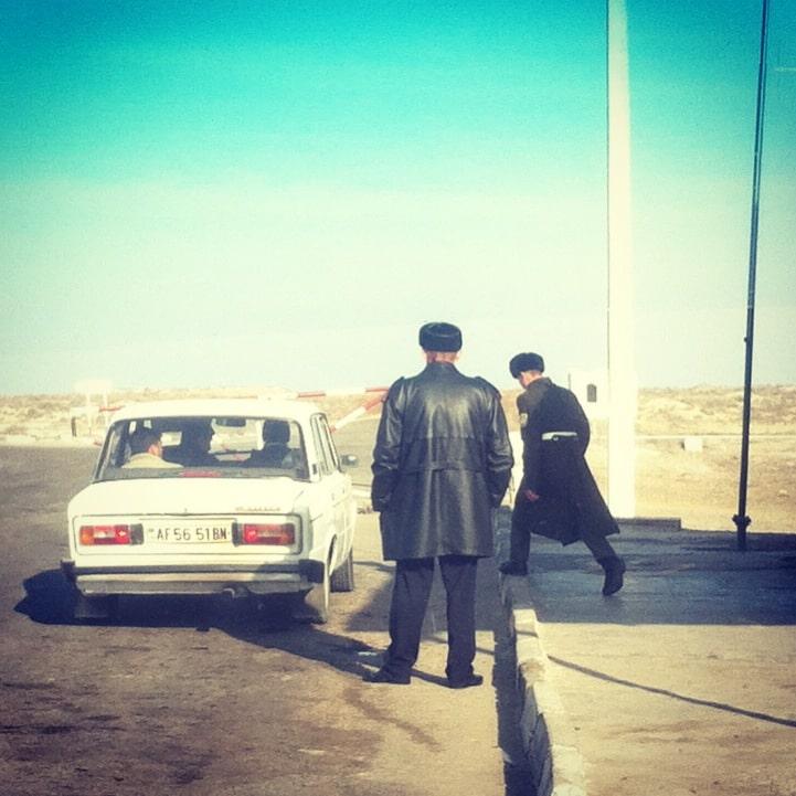 frontière Turkménistan Iran