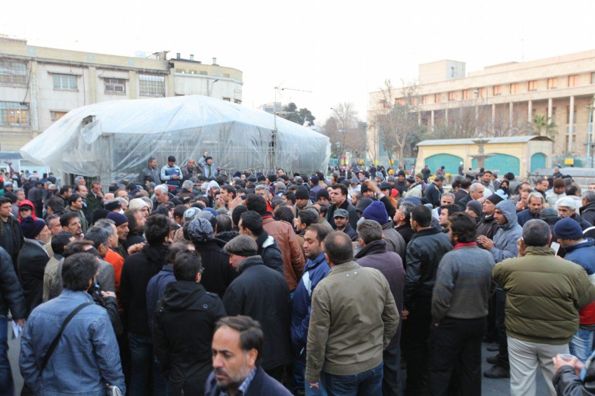 visiter Téhéran Iran manifestation