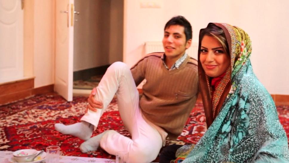voyager femme en Iran