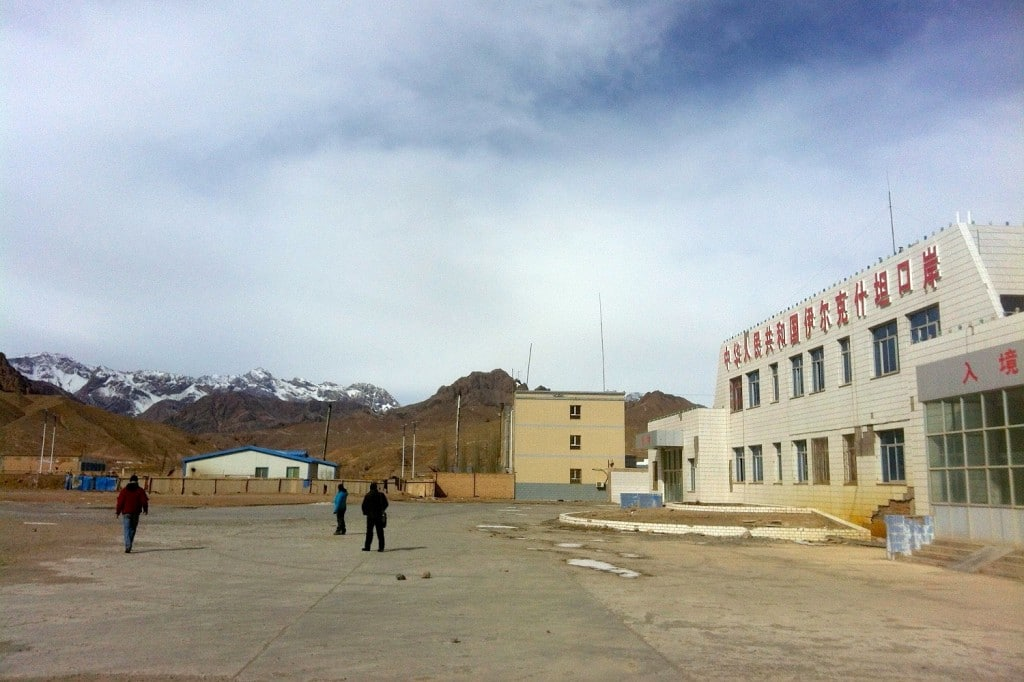 visa chinois frontière Kirghizistan Chine