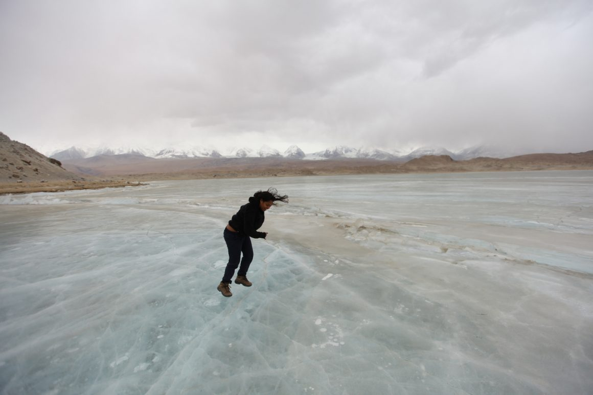 visiter Lac Karakul Kachgar Xinjiang hiver