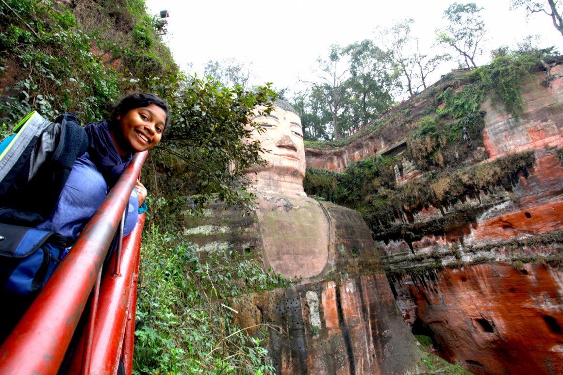Bouddha géant de Leshan Sichuan