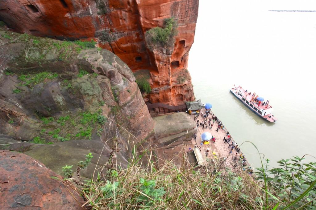 bouddha géant de Leshan