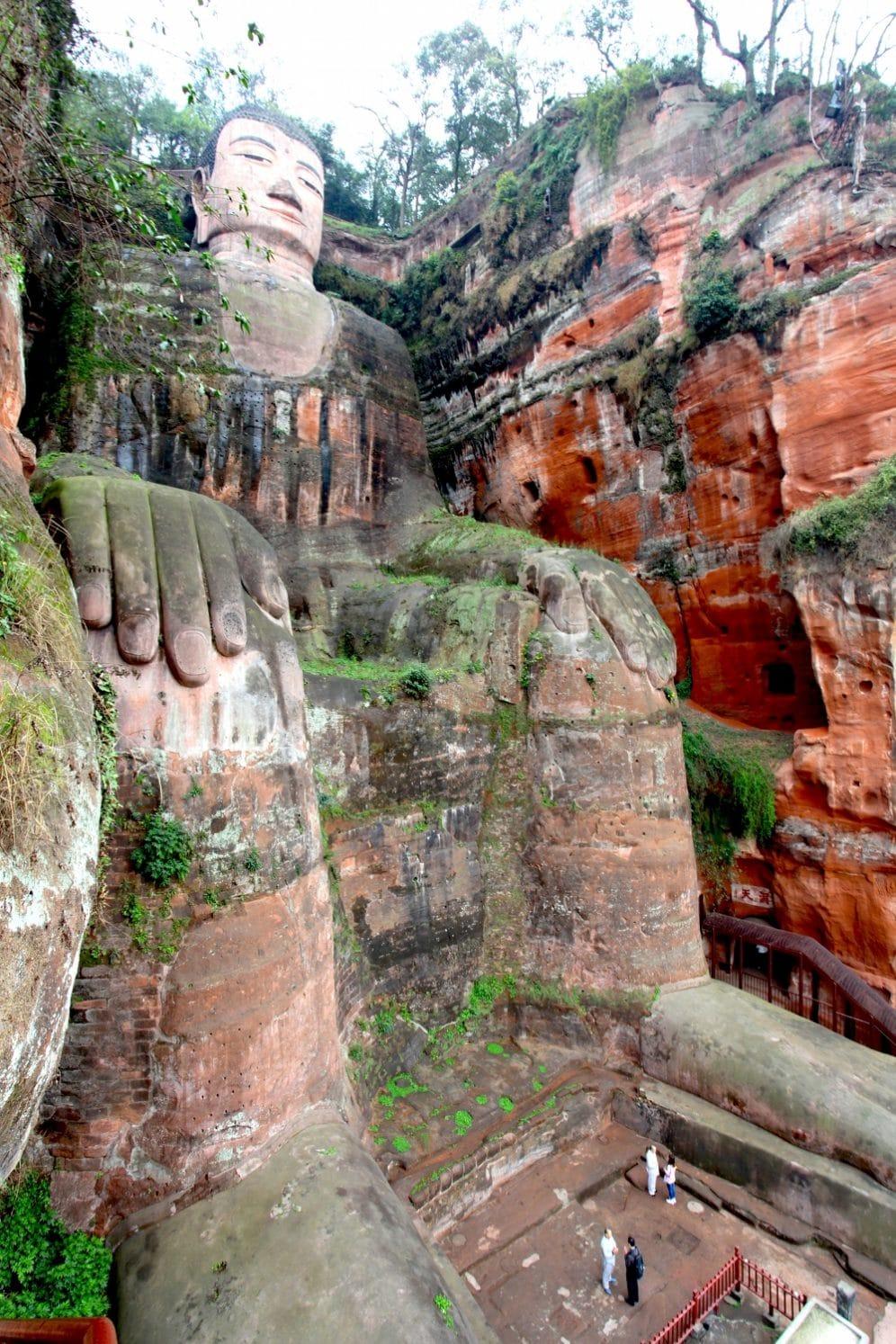 bouddha géant Leshan