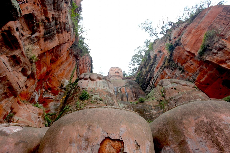 bouddha Leshan géant taille