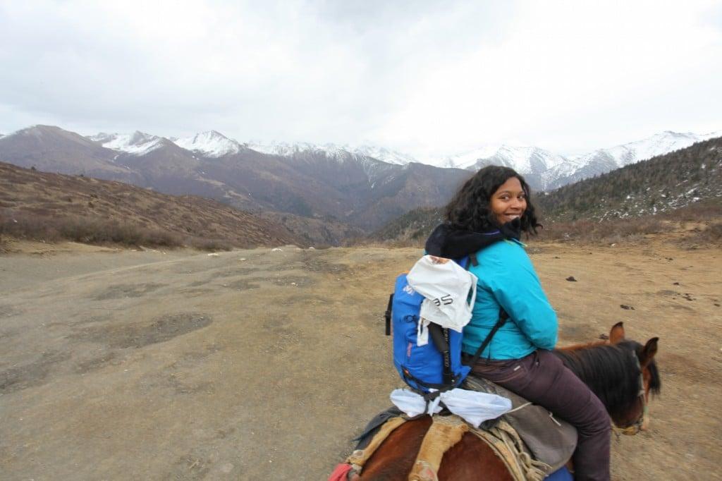 montagnes du Sichuan Ice mountain Songpan