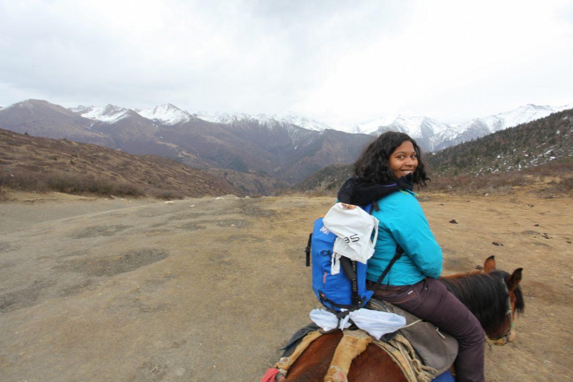 randonnée à cheval Songpan
