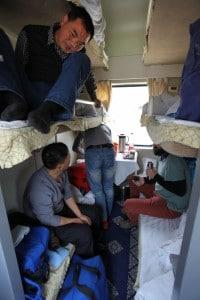 train à couchette Tibet Xining-Lhassa